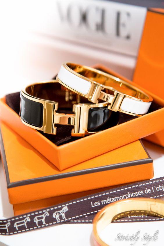 blue ostrich handbag - hermes h-bracelet clic-clac | Amazing Accessories | Pinterest ...