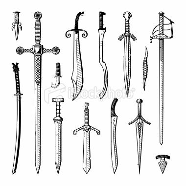 swords | Mood Board | Medieval | Pinterest | Weapons and ...