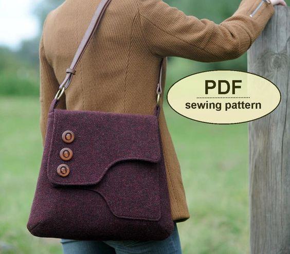 Patrón para hacer la mochila verde de Saxted PDF por charliesaunt