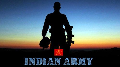 Indian Army Hd Wallpapers 1080p Download With Picture Of Soldier In Silhouette Indian Army Wallpapers Army Wallpaper Indian Army Special Forces