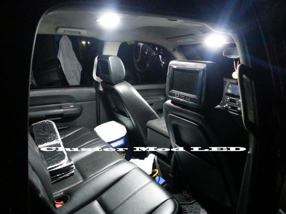 2012 Chevrolet Silverado Interior Led Lighting Upgrade Led Mod Pinterest Interiors