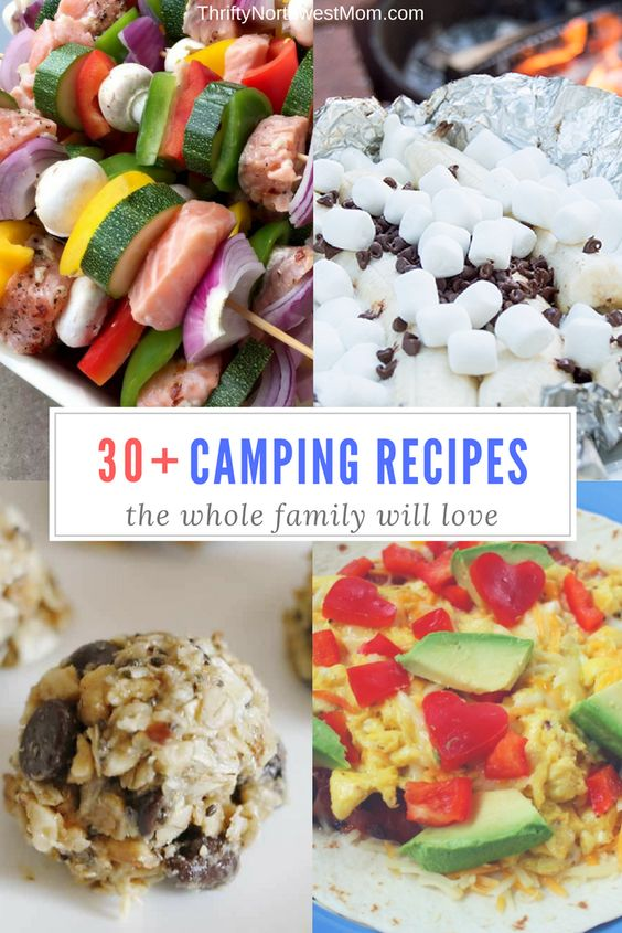 30+ Camping Recipes the Whole Family Will Love Are you planning a family camping trip anytime soon? Camping is so much fun for families and a great way to get out and enjoy the outdoors! If you are planning a family camping trip soon, you will have to coordinate a menu of food that everyone will love. Some folks love super easy & low-key as they want to maximize all their time with relaxing or hiking, swimming, etc. While others look forward to unique foods made just for camping over the ...