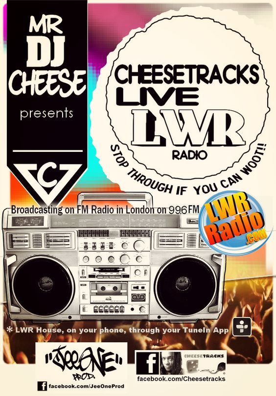 Création by JeeOne Prod. (Flyer, Radio Show) pour Mr DJ ChEeSe (Jamal)