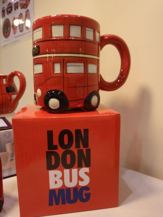 London Bus Mug: