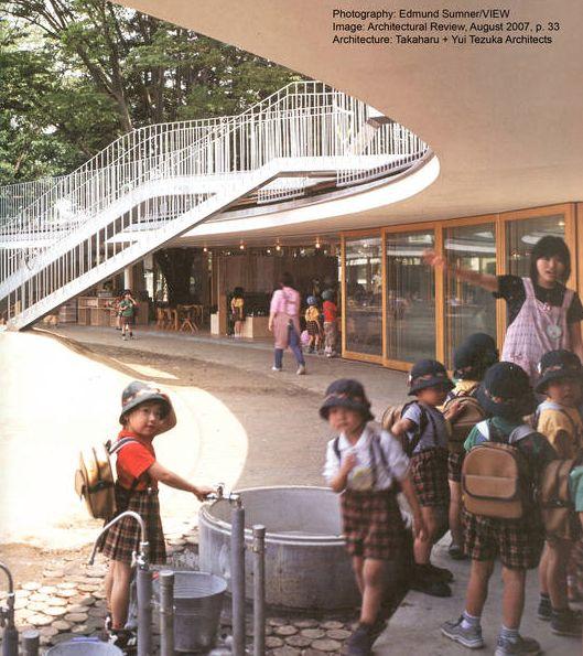Kinder Garden: Fuji Kindergarten - Tezuka Architects