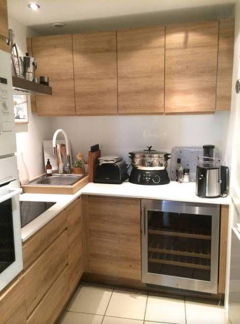 Petite cuisine bois id es pour la maison pinterest cuisine for Petites cuisine moderne
