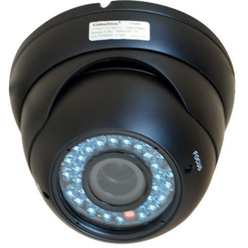 "VideoSecu Outdoor Day Night Vision IR Dome Security Camera CCTV Surveillance Weatherproof 540TVL Built-in 1/3"" Sony CCD 36 Infrared Leds Zoom Focus Lens 1LE by VideoSecu. $65.99. This VideoSecu Infrared vandal armor manual pan/tilt dome camera, with external adjustable vari-focal lens 4-9mm, built-in 1/3"" Sony Super HAD sensor, and 540 lines of resolution. The tri-axis enclosure design allows you to change the direction that the camera is facing without taking it apart. The l..."