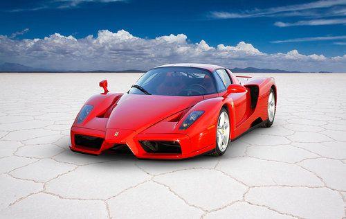 Ferrari LaFerrari Automotive Car Wall Art Giclee Canvas Print Photo