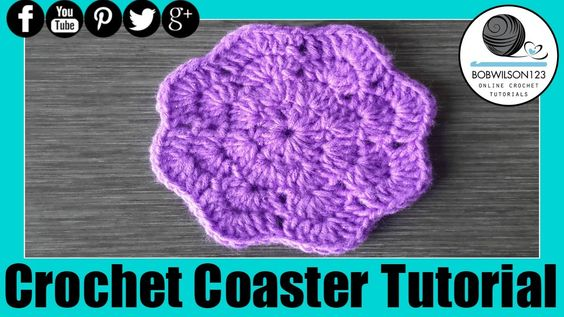 Crochet Whip Stitch : Crochet Coaster Whip it up Wednesday - Round 2 should have 16 stitches