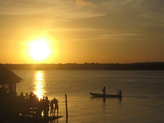 Praia do Jacaré com seu por do sol diferenciado. (Joao Pessoa- PB)