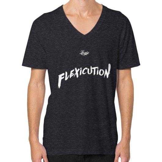 Flexicution Logic V-Neck (on man) shirt