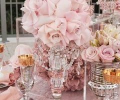 : Pink Wedding, Wedding Idea, Table Setting, Party Idea, Pink Rose