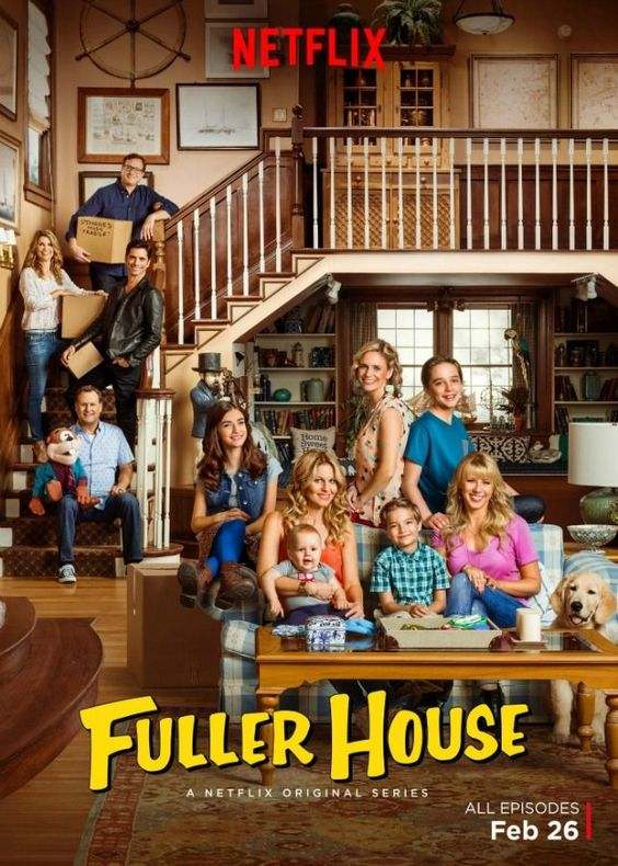 Fuller House exclusively on Netflix