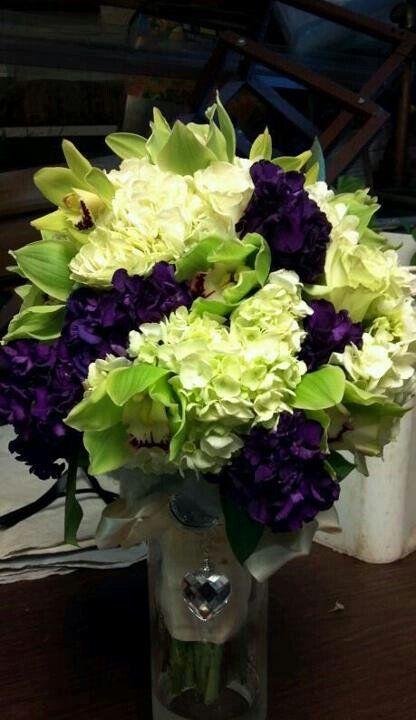 Eggplant Purple Wedding Purple Wedding Flowers And Wedding Flowers On