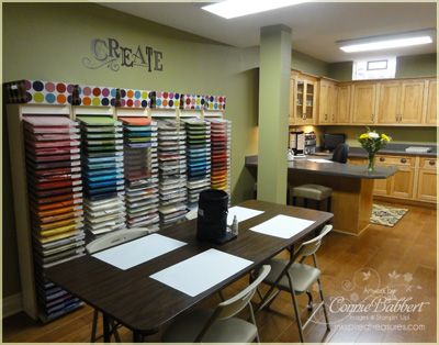 My paper storage.  More organization ideas and photos on my blog.  Wish this was my craft room :D