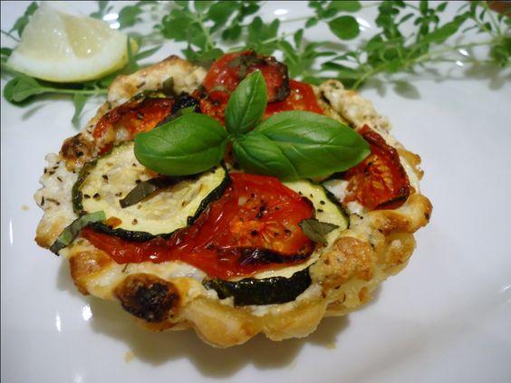 Tomato, Zucchini and Ricotta Tarts: Menu Musings of a Modern American Mom