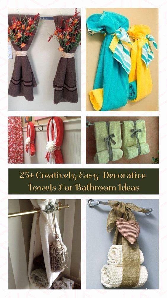 Bathroom Towel Decor Ideas Beautiful Amazing Decorative Bathroom Towels Really Inspiring Design Isabel In 2021 Bathroom Towel Decor Decorative Towels Bathroom Towels