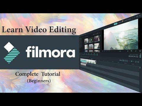 Filmora Video Editing Tutorial For Beginners Full Course Hindi Youtube Video Editing Video Editing Software Mac Video Editing
