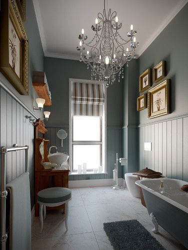 Retro Victorian Bathroom - traditional - bathroom - other metro - by Bathroom By Design