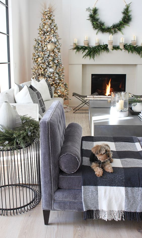 The Forest Modern Grand Finale Christmas Home Tour 2018! - The House of Silver Lining