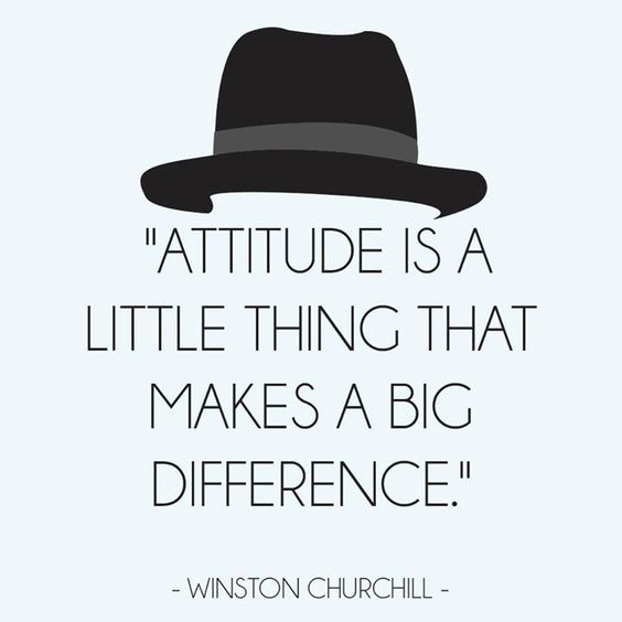Winston Churchill quote #Attitude
