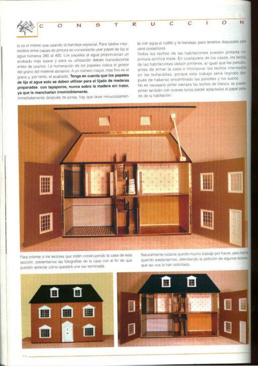 Casas De Muñecas Instruciones Y Planos Para Su Construcción Casas De Muñecas Planes De Casa De Muñecas Ideas De Casa De Muñecas