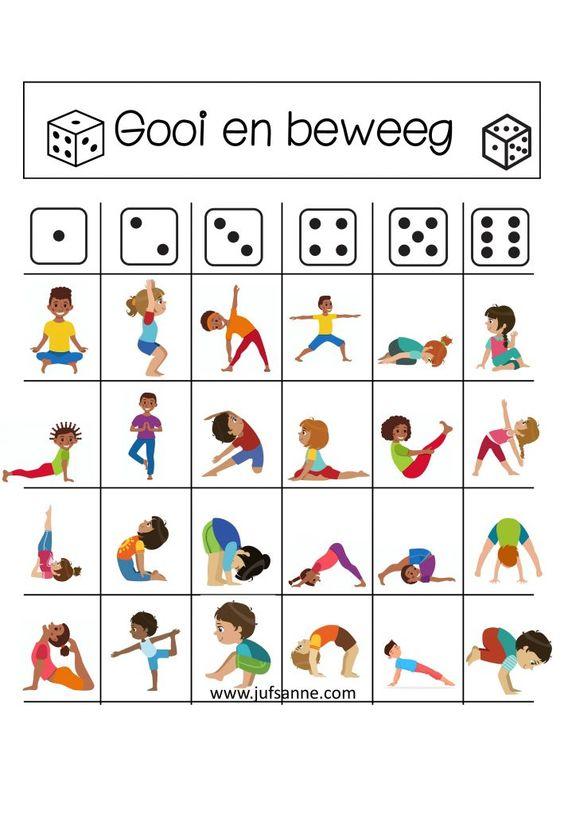 Beweeg bingo