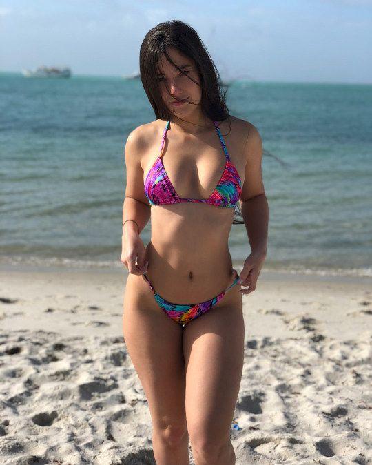 Beach angie varona Angie Varona: