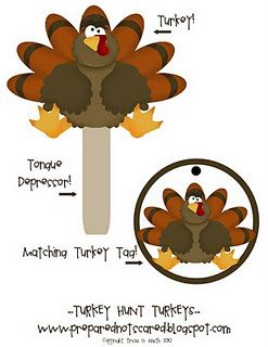 TURKEY HUNT - hide them all over the yard or inside if the weather is bad. #Game