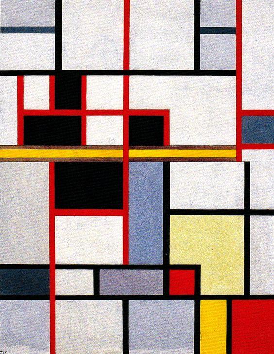 "Franciska Clausen ""Neoplastic Composition"" (1930)"