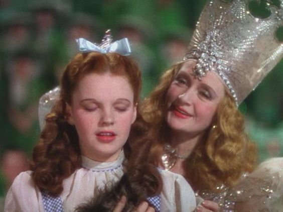 Glinda and dorothy the wizard of oz 1939 movies for Glinda the good witch crown template