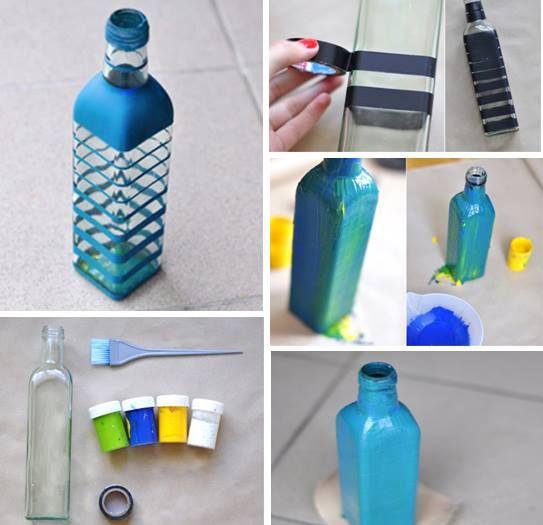 Pra Nossa Casinha: Reciclagem:garrafas de vidro