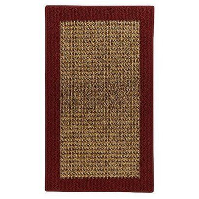 Raffia Red Rug from Target