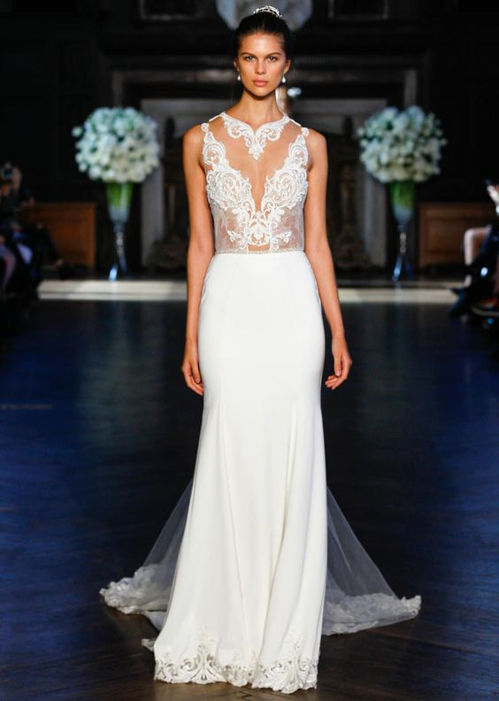 You've Got to See Alon Livne's Embroidered Wedding Dresses for Fall 2016: