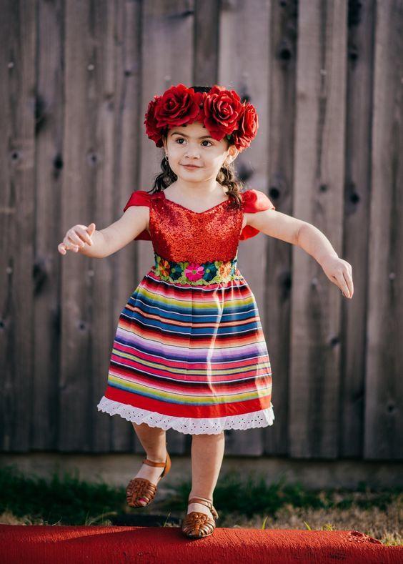 Vestidos Mexicanos Para Niñas Vestidos Mexicanos Para Niña