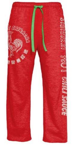 Sriracha lounge pants