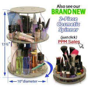 Cosmetic Organizer for small spaces