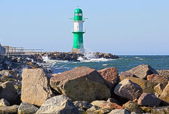 Lighthouse @ Warnemünde Germany
