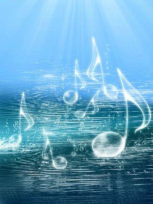 music notes audio