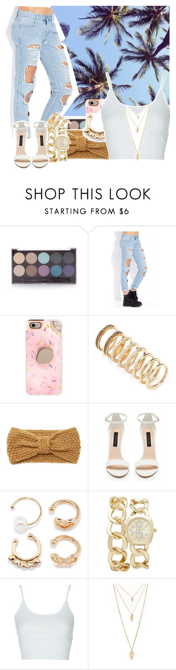 """""""Untitled #578"""" by makkisme ❤ liked on Polyvore featuring Prada, Forever 21, Casetify, Forever New and Topshop"""