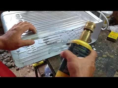 Como Reparar Nevera Con Perforación En El Evaporador Soldada Del Evaporador Youtube Refrigeracion Y Aire Acondicionado Reparar Hacer Jabon Liquido