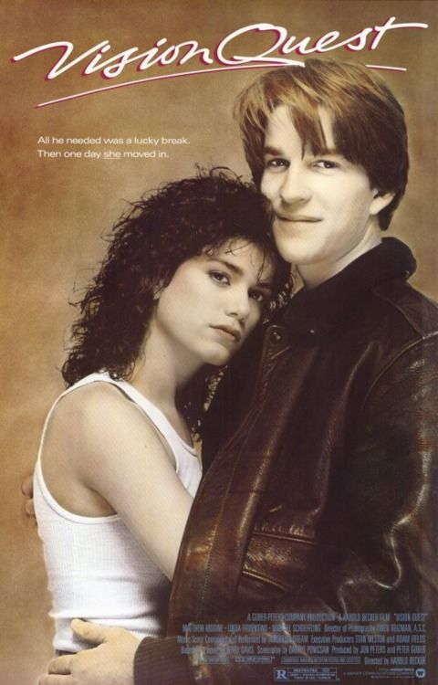 Vision Quest, the film based on my friend Terry Davis's award winning novel was filmed in Spokane.  LOVE.