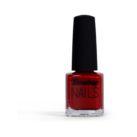 Mini Red Back Limedrop Nail Polish (17 AUD) ❤ liked on Polyvore featuring beauty products, nail care, nail polish, red back, limedrop, clear nail polish, red nail polish and mini nail polish