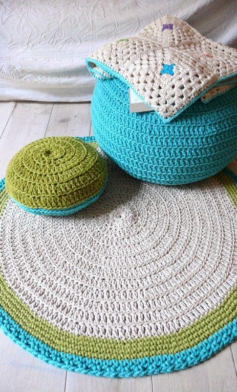 Crochet Inspiration - Rugs