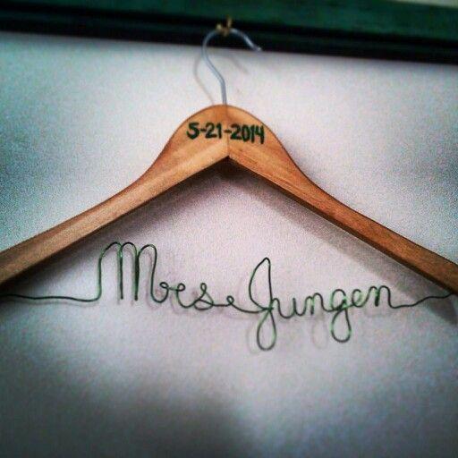 Dress hanger.
