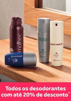 Promoção Desodorantes até 20%