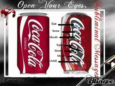 coca cola open your eyes and messages on pinterest