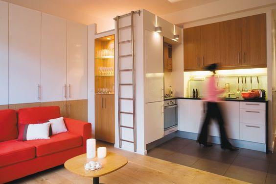 Deux pièces dans 36 m2