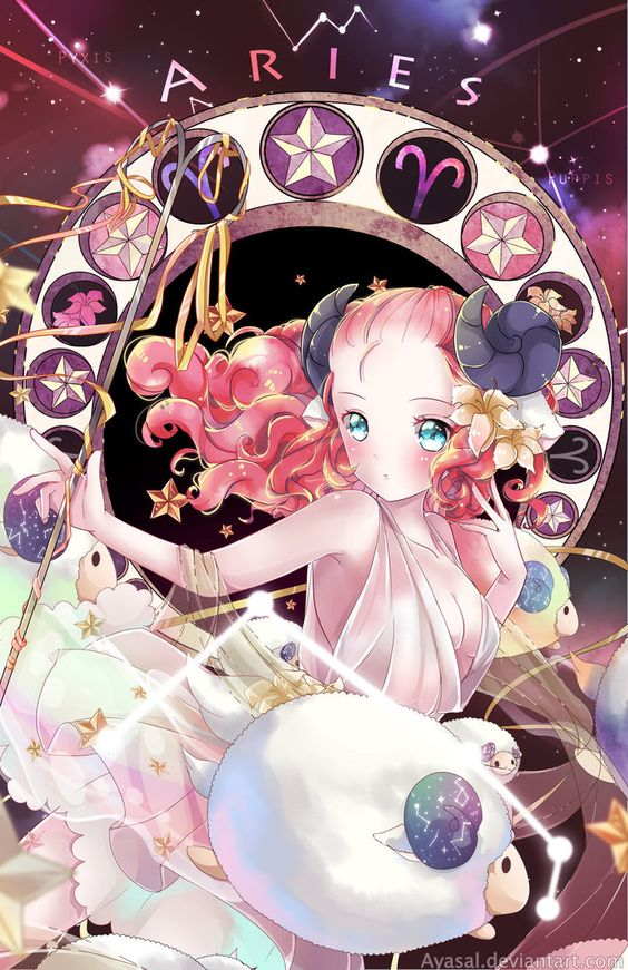 Aries [Zodiacal Constellations] by Ayasal:
