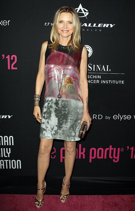 Image result for MICHELLE PFEIFFER WEARING DRESS